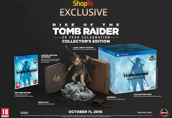 Tomb Raider Anniversary Collectors Edition