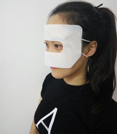 Jackie Hygiene Mask for VR on Face